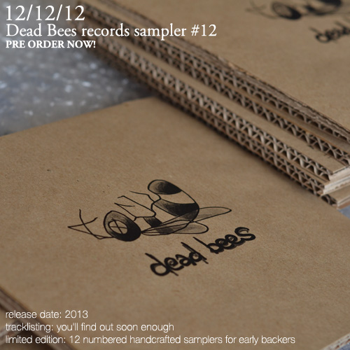 12: Dead Bees records label sampler #12