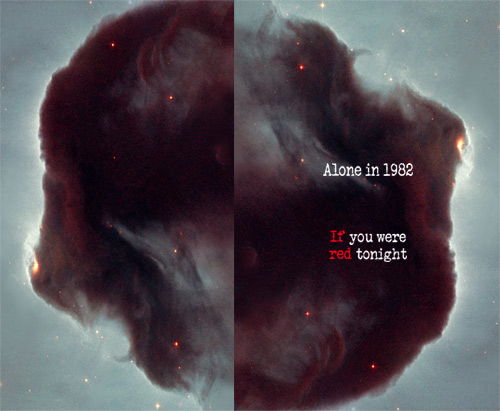 ALONE IN 1982 - If You Were Red Tonight
